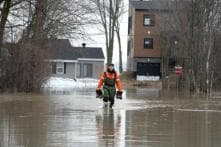 Heavy Rains, Snowmelt Cause Extensive Flooding in Eastern Canada; 1,200 People Evacuated