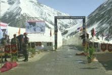 Srinagar-Leh Highway Opens for Traffic After Four Months