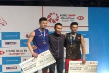 Malaysia Open: Lin Dan Beats Chen Long To Win 1st Major Title in 2 Years, Poses With Lee Chong Wei on Podium