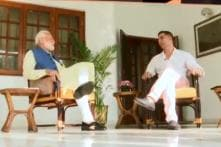 Akshay Kumar Tweets Teaser of 'Candid And Completely Non-Political' Interview With PM Modi