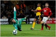 Wolves 2-1 Manchester United: Chris Smalling's Own Goal Puts Dent in Top 4 Hopes as Ashley Young Sees Red