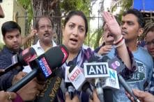 'Rahul Sent a Man to Deathbed for Votes... Why Isn't He in Amethi Today?' Smriti Irani Slams Cong Chief