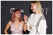 Sophie Turner, Maisie Williams Show Off Their Adorable Off-Screen Bond at Game of Thrones Premiere
