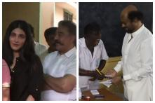 South Stars Rajinikanth, AR Rahman, Ajith Among Early Voters in Phase 2 of Lok Sabha Elections