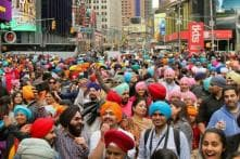 74ffb57c3ef New York s Times Square Inundates With Sikh Culture as Thousands Gather On  World Turban Day