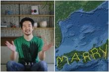 Man Proposes to Girlfriend by Spelling 'Marry Me' Across Japan's Map Using Google Earth