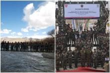 Indian Army Sets Record by Building Longest Bridge on Indus River in Leh Within 40 Days, Twitter Cheers