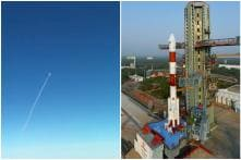 Watch: Indigo Pilot Films ISRO's PSLV Launch from Inside Cockpit in Mid Air, Twitter Cheers