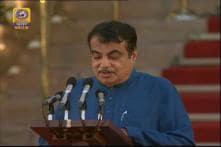 Nitin Gadkari Takes Oath in New Cabinet