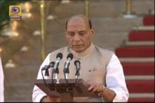 Rajnath Singh Takes Oath As A Part Of Team Modi 2.0