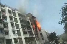 Fire Breaks Out After a Cylinder Blast at an Apartment in Mumbai's Andheri; 2 Hurt