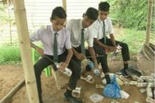 This Unique School in Guwahati Accepts Plastic As Fees, Teaches Students How to Recycle