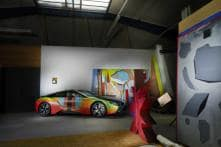 BMW i8 Transformed Into Artistic Experiment by Thomas Scheibitz