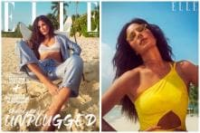 Katrina Kaif Sets Temperature Soaring on Elle Magazine Cover