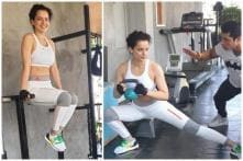Kangana Ranaut Hits Gym Before Her Cannes Red Carpet Appearance