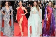 Cannes 2019 Day 2: Flowing Drapes, Fiery Red Outfits Steal the Show at Red Carpet