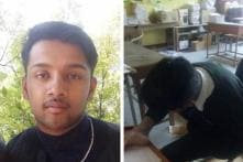 Born Without Hands, Student Writes CBSE Class 10 Exam Using His Feet and Scores 72%