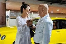 Anupam Kher Meets Kangana Ranaut at Mumbai Airport, Shares Photos