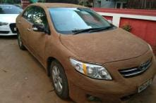 Car Owner in Gujarat Covers Car in Cow Dung to 'Keep it Cool' and Beat Summer Heat