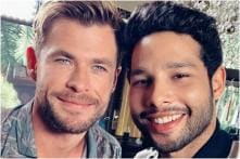 Siddhant Chaturvedi Shares Selfie with Chris Hemsworth, Says 'I'm Worthy of Lifting Thor's Hammer'