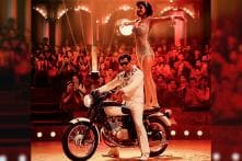 Bharat Song Zinda: Salman Khan, Disha Patani Look Awesome Performing Stunts on a Triumph Motorcycle