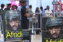 Afridi Attends Launch Controversial Autobiography 'Game Changer'​