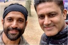 Fans Unhappy After Farhan Akhtar-Anil Kumble Came Last in 60-second Challenge at World Cup 2019