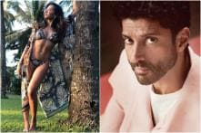 Shibani Dandekar is the Perfect Muse for Photographer Farhan Akhtar, See Here