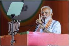 Photos From PM Modi's Rally in Ramlila Maidan, Delhi