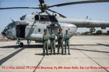 IAF All-Women Crew Makes History, Flies Mi-17 Helicopter for the First Time