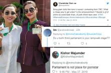 Why Trolling MPs Mimi and Nusrat after they Dressed Up for Parliament is Problematic