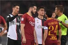 Juventus Lose Stripes and Match as Roma's Champions League Hopes Stay Alive
