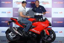 New TVS Apache RR 310 with Slipper Clutch Launched at Rs 2.27 Lakh, MS Dhoni Becomes 1st Owner