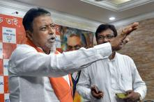 Mukul Roy Takes a Dig at Mamata, Says She Won't Resign Until Thrown Out