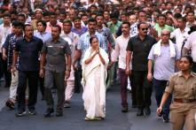 TMC Chief Mamata Banerjee's Protest March Against Kolkata Violence