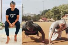 On Mother's Day, Milind Soman's 80-year-old Mom Shows How to Ace the Push-up Challenge