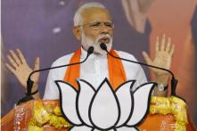 From Home Turf, PM Modi Promises to Regain India's Lost Position in World in Next 5 Years