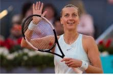 Madrid Open: Defending champion Kvitova beats Mladenovic, Dimitrov Knocked Out