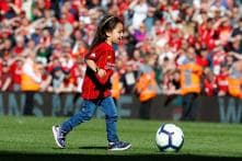 Salah's Daughter Scoring a Goal to Liverpool Crowd's Delight is the Cutest Thing You Will See Today
