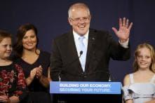 Scott Morrison Sworn in as Australia's Prime Minister in Canberra