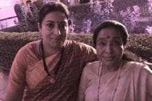 Smriti Irani's Sweet Gesture for Asha Bhosle at PM's Swearing-in Ceremony is Winning Hearts Online