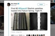 Elon Musk's SpaceX Starlink Takes The First Steps For Global Broadband Connectivity