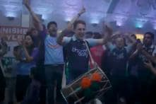 ICC World Cup 2019 | Flintoff Gives Dhol And Bhangra Lessons to British RJ Stark