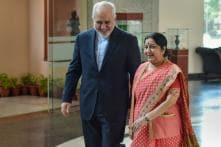 12 Days After US Exemptions Ceased, Sushma Swaraj Holds Talks With Iranian Foreign Minister Javad Zarif