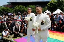 In a Historic Day for LGBT Rights in Asia, Taiwan Holds First Gay Marriages