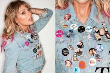 Dear 'Swifties,' Taylor Swift's Denim Jacket Pins Have These Hidden Meanings