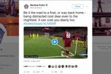 Mumbai Police Tweets Awareness Message Citing Liverpool's Fourth Goal Against Barcelona