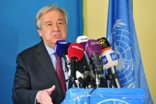 UN Secretary-General Warns World 'Not on Track' to Limiting Temperature Rise to 1.5%