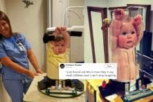 Parents on Twitter are Having a Good Laugh Over Babies Stuck in X-Ray Machines