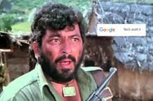 Google Lets You Recreate Gabbar Singh's Iconic Scene From 'Sholay'